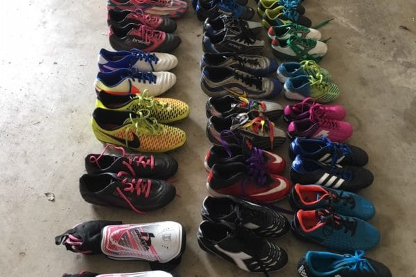 Cleats - 27 Pairs to Dominican Republic